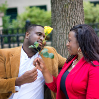 Shawnta +Rontonio--Engagement session at Waterfront Park, Charleston, SC